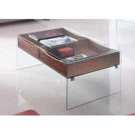 Mesa Jaén Centro Mueble de cristal
