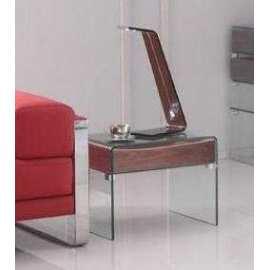 Mesa Jaén Rinconera Mueble de cristal