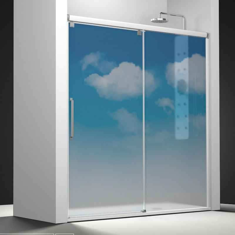 Mampara de ba o profiltek serie vetro vt 210 decorador virtual - Profiltek mamparas de bano ...