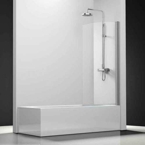 Mampara de ducha profiltek serie standard modelo hoja ba era - Mamparas de banera economicas ...
