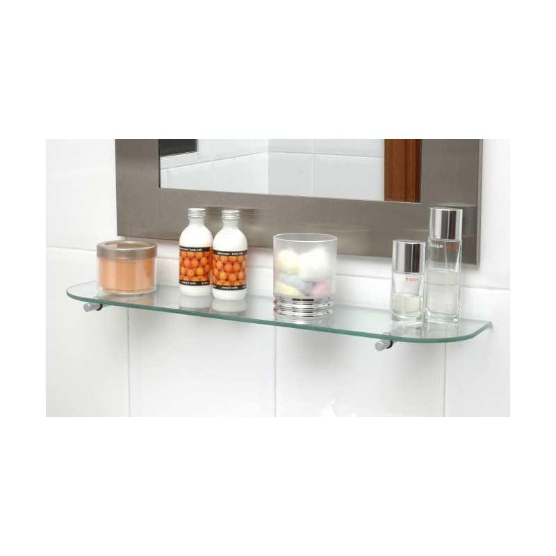 Balda repisa estante de cristal a medida opci n vidrio - Baldas de cristal ...