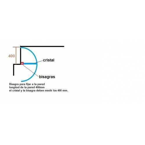 Mampara templada a Medida 8mm Envio incluido