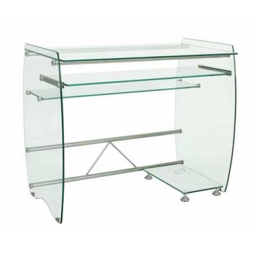 Mesa Ordenador Coruña Mueble de Cristal