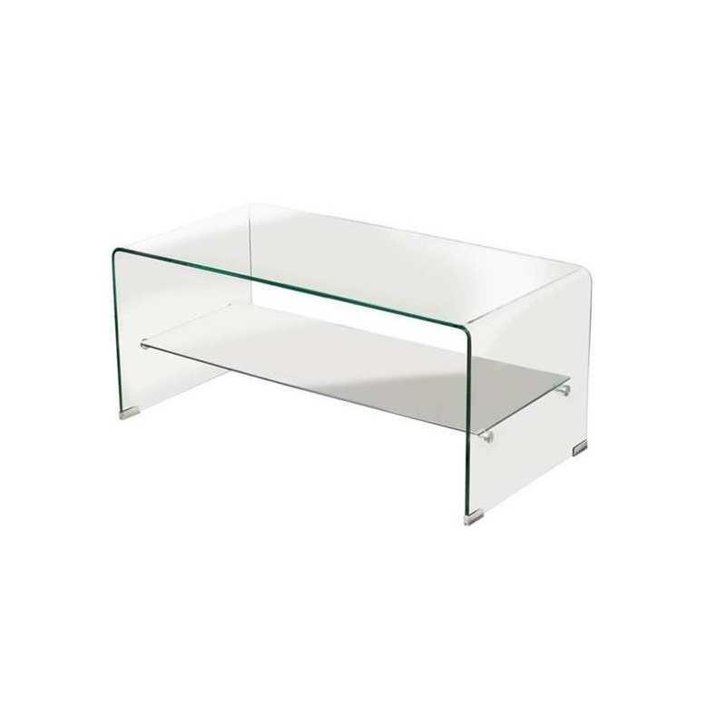 Mesa centro vidrio curvado oviedo mesa challenger mueble for Centro reto oviedo muebles