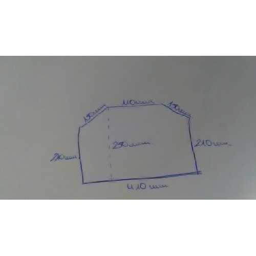 Vidrio Neoceramico 4mm dos esquinas cortadas