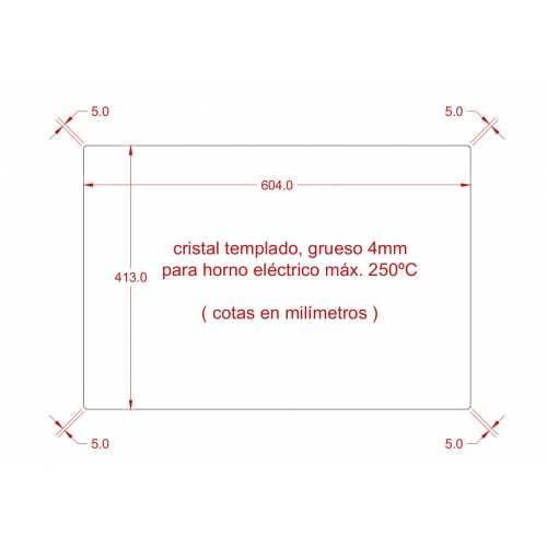 Cristal 5mm templado incoloro envio incluido