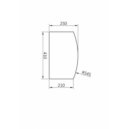 Vidrio 5mm templado incoloro para escritorio