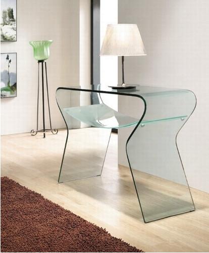 Mueble de vidrio Consola de cristal