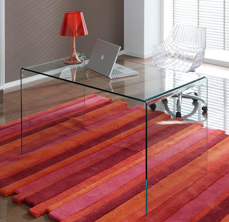 Mueble de cristal Escritorio de vidrio