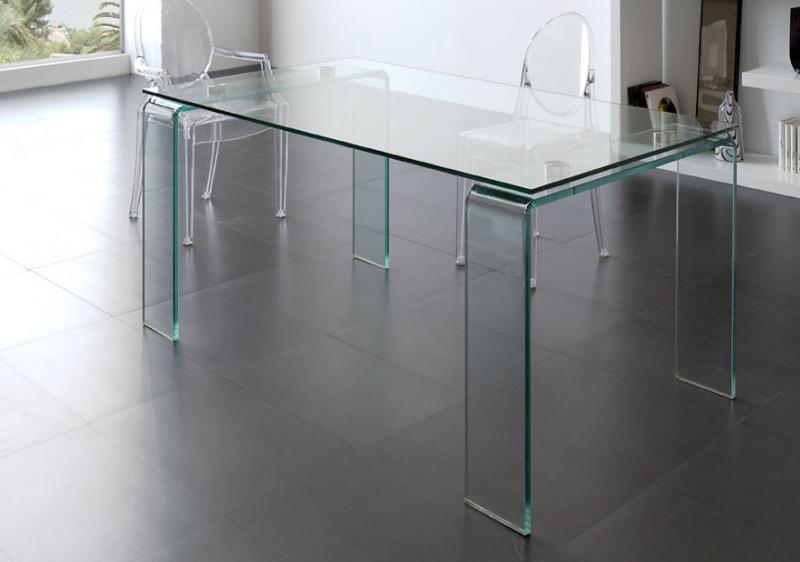 Mueble de cristal Mesa de centro