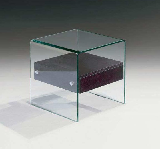 Mueble de cristal Mesilla de vidrio