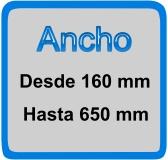 ancho 160