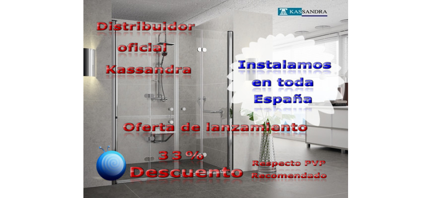 Mamparas Para Baño Sensi Dacqua:Somos distribuidores Oficiales de Mamparas Kassandra Oferta de