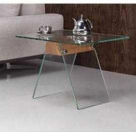 Mesa Pontevedra Rinconera Mueble de cristal