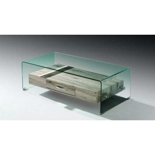 Mesa Saturno Centro Mueble de cristal