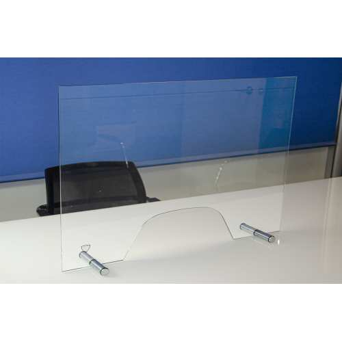 Mamparas de cristal anticontagio covid 19 Mini 80x60