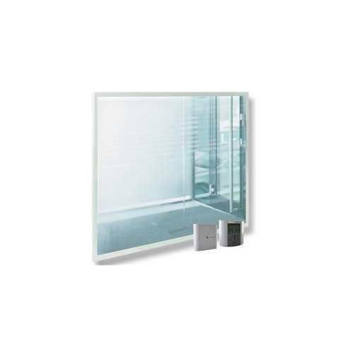 Radiador de Vidrio Efecto Espejo con Mando