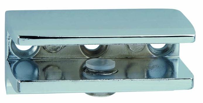Portarrepisas rectangular con pestaña
